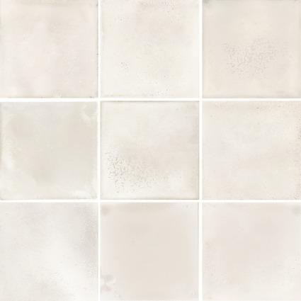 Carrelage mosaïque KARL white 9,7x9,7cm Ep.6,5mm