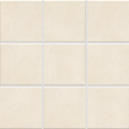Carrelage mosaïque PATTERN beige mat satiné 9,7x9,7cm Ep.6,5mm