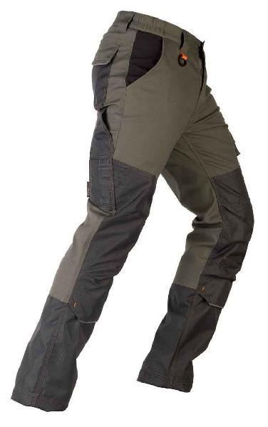Pantalon avec renforcements TENERE PRO vert T.S