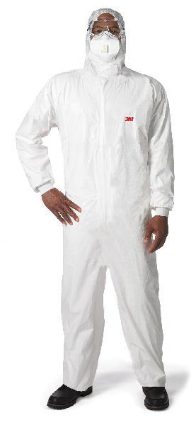Combinaison protection amiante LAMINE SOUPLE blanc T.L