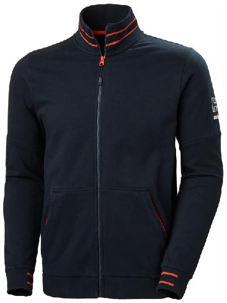 Sweat-shirt zippé KENSINGTON marine T.XXXL