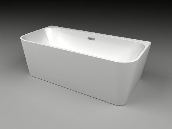 Baignoire acrylique ORTA blanc 222l 170x80cm