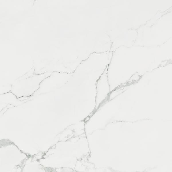Carrelage STATUARIO statuario rectifié brillant 75x75cm Ep.10,2mm