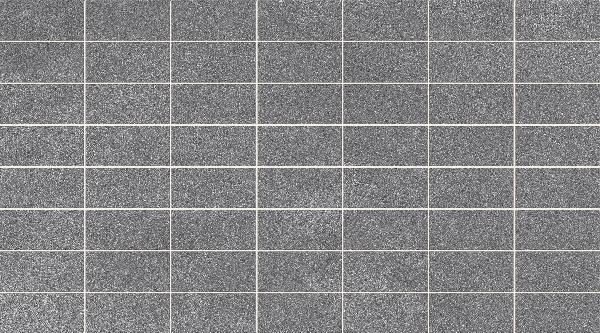 Faïence mosaïque VOGUE antracite mat 24,7x44,7cm Ep.7,5mm