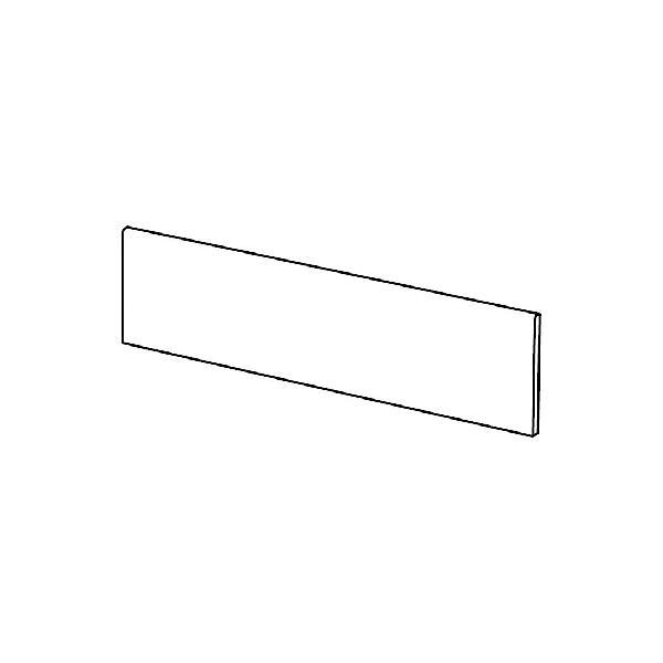 Plinthe ANTICA black mat 7x44,7cm Ep.8,3mm