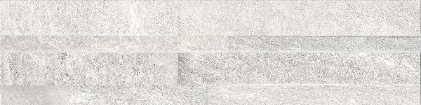 Parement ART STONE blanc rectifié 14,5x59,8cm Ep.8mm