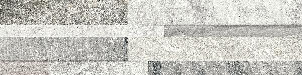 Parement ART STONE gris rectifié 14,5x59,8cm Ep.8mm