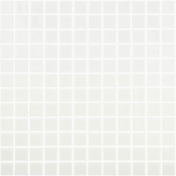 Emaux COLORS LISOS blanc 100 2,5x2,5
