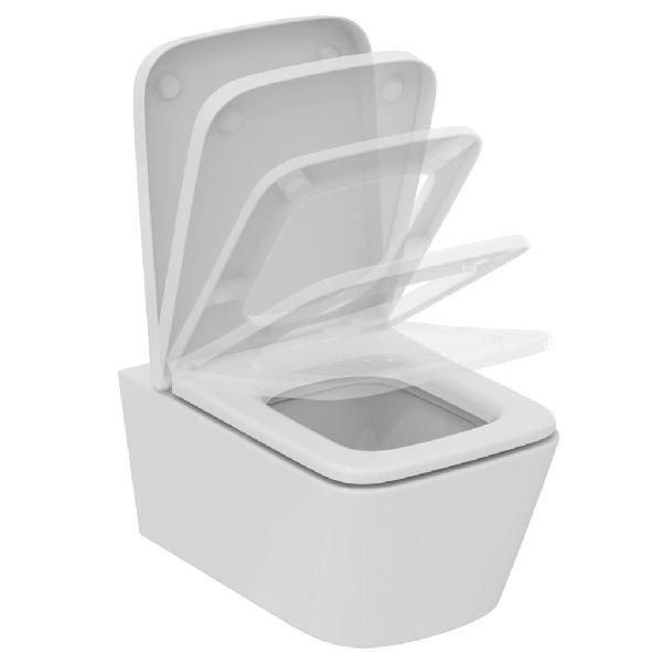 Cuvette suspendue BLEND CUBE blanc céramique 42x38,5x56,5cm