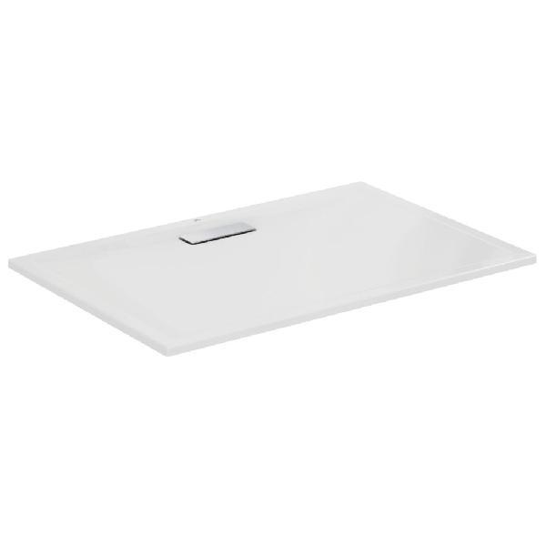 Receveur ULTRAFLAT blanc brillant acrylique 120x80cm Ep2,5mm