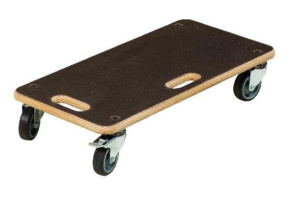 Plateau roulant de chargement à roulettes SWIFT 3,3kg 57,5cm 200kg