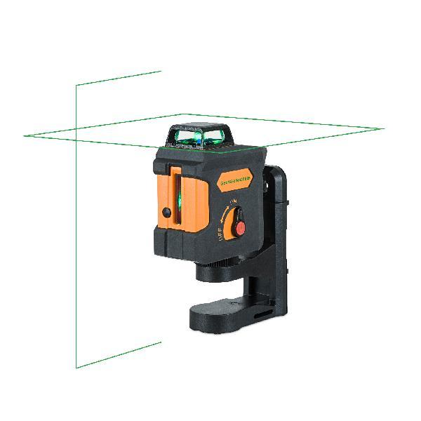 Laser croix GEO 1X360 GREEN vert sacoche