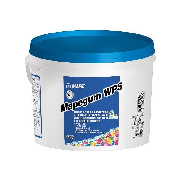 Enduit protection à l'eau sous carrelage MAPEGUM WPS seau 25kg