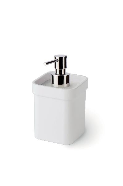 Distributeur de savon OPEN 9x8,5x15cm blanc