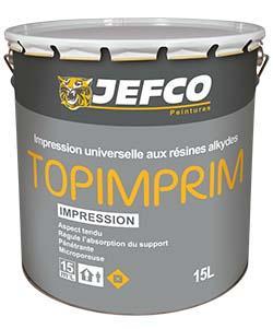 Impression universelle TOPIMPRIM P4 résines acrylique blanc 15L