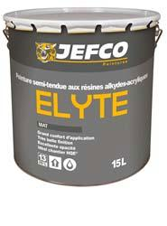 Peinture acrylique mat ELYTE blanc 15L