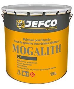 Peinture façade MOGALITH mat résine pliolite blanc 4L