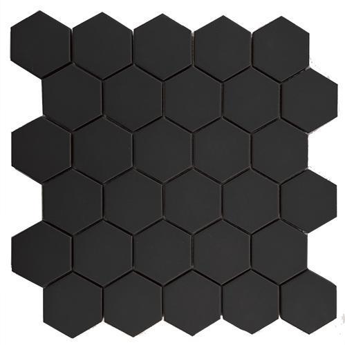 Carrelage FULL BODY ESAGONO carbonio antidérapant 31x31cm Ep.7mm