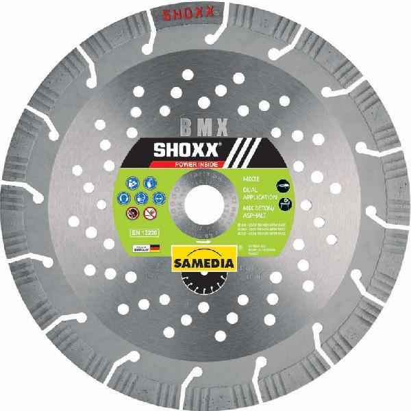 Disque diamant SHOXX BMX SAMEDIA Ø230mm + BALLON