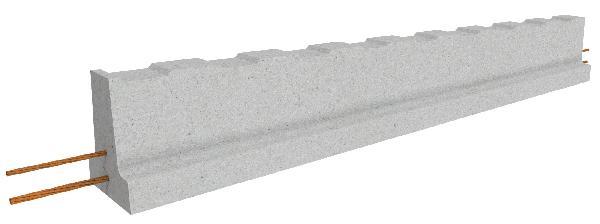 POUTRELLE B132 RSE 2,1m
