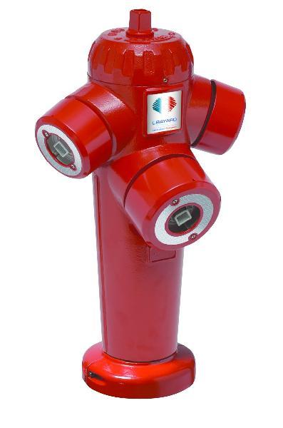 Poteau incendie SAPHIR ARGENT DN150 choc H.1,00m NF