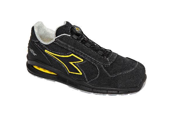 Chaussures de sécurité hautes RUN AIR BOX BOA noir T.44