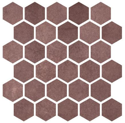 Carrelage mosaïque MATERIA PRIMA jewel poli 25x25cm Ep.10mm