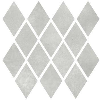 Carrelage mosaïque MATERIA PRIMA grey vetiver poli 27x27cm Ep.10mm