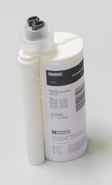 Colle résine GETACORE dolomiti white GC2012 cartouche 50ml