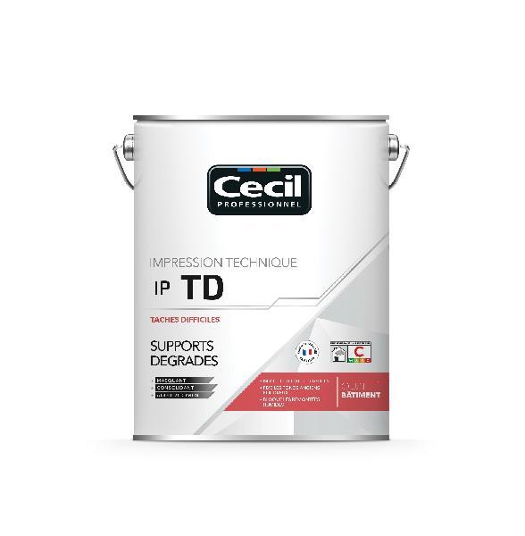Impression support dégradé tâches difficiles IPTD blanc 5L