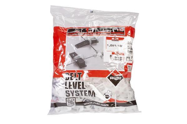 Bride pour carreaux de 3 à 12mm DELTA LEVEL SYSTEM B200 1,5mm