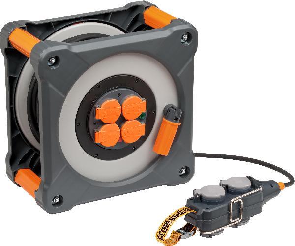 Enrouleur câble HO7RN-F POWERBLOCK 3G2,5bar 25+5m