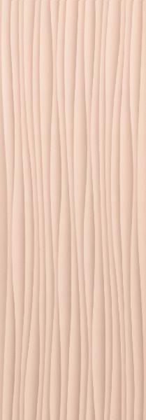 Faïence décor GENESIS wind pink mat 35x100cm Ep.10mm