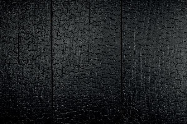 Lame noir & bois épicéa thermo-traité ignite 20x186mm 4,50m