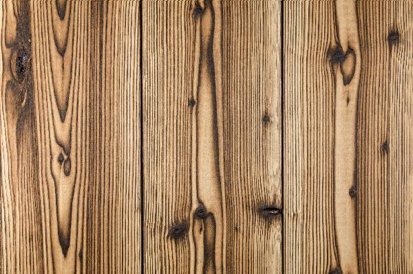 Lame noir & bois épicéa caramel brûlé brossé 17x185mm 3,90m