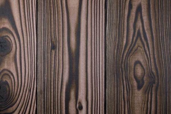 Lame noir & bois douglas marbre 20x175mm 4,00m