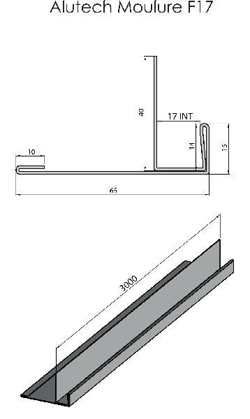 Profil ALUTECH F17 acadia 3,00m
