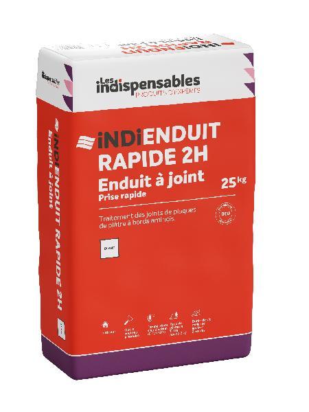 ENDUIT rapide 2H INDI ENDUIT  sac 25kg