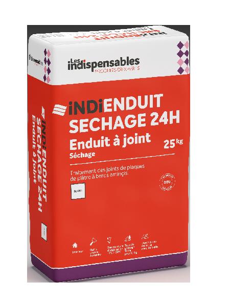 ENDUIT à joint prise lente 24H INDI ENDUIT SECHAGE sac 25kg