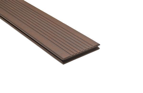 Lame bambou réversible huilé rainurée 20x137mm 1,85m