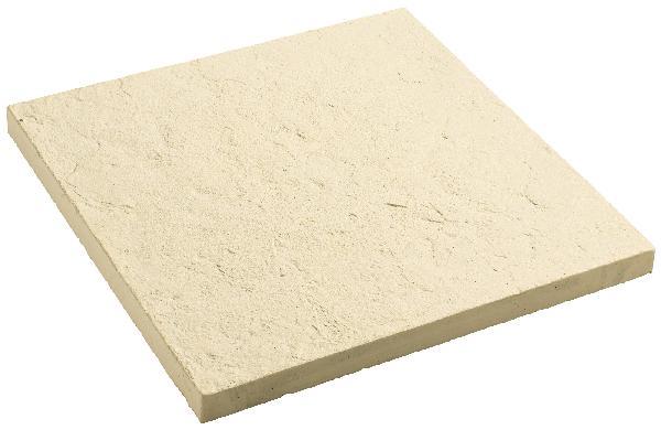 Dalle ABBAYE 50x50cm Ep.25mm pierre nuancé