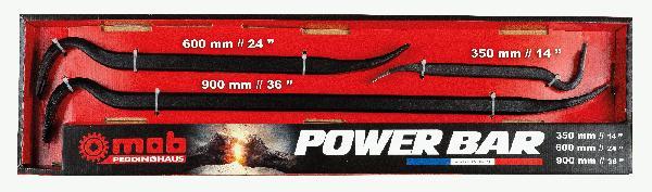 Pince à décoffrer POWER BAR 350/600/900mm acier forgé