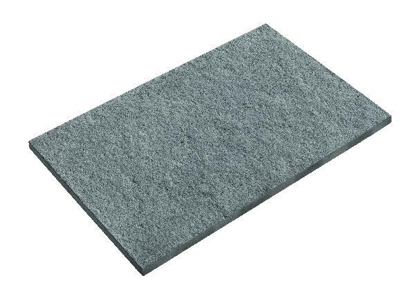 Dalle VOLCANIK 70x45cm Ep.35mm gris