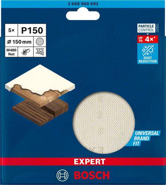 Disque abrasif treillis M480 EXPERT pour ponceuse Ø150mm G150 lot 5