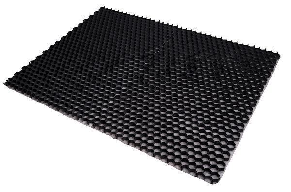 Plaque stabilisation double ALVEPLAC 158x115cm Ep.3cm grise