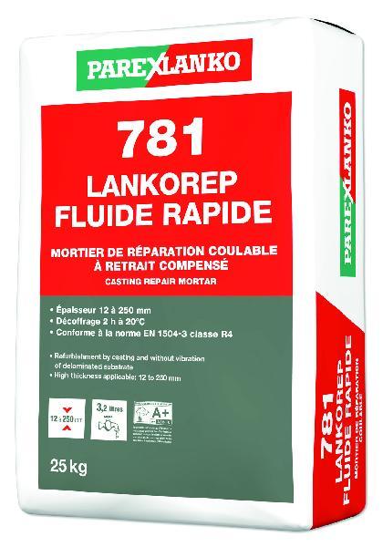 Mortier réparation 781 LANKOREP FLUIDE sac 25kg