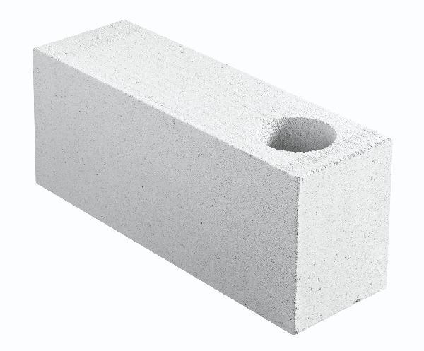 Bloc béton cellulaire angle COMPACT chaînage vertical 20x25x62,5cm