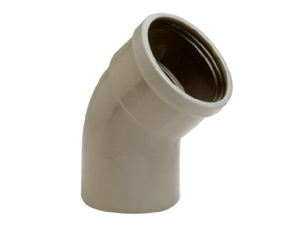 Coude PVC assainissement CR4 Ø500 mâle-femelle 87°