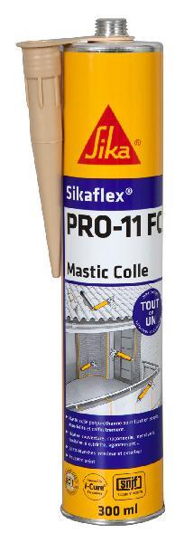 Mastic colle SIKAFLEX PRO 11FC PU beige cartouche 300ml