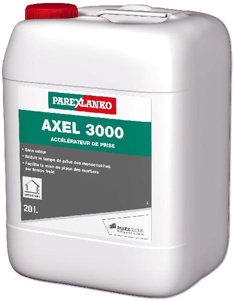 Accélérateur de prise pour enduit de facade 3000 AXEL bidon 20L